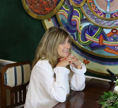 Győriné Dr. Czeglédi Mártával Jászfényszaru polgármester asszonyával beszélgettem